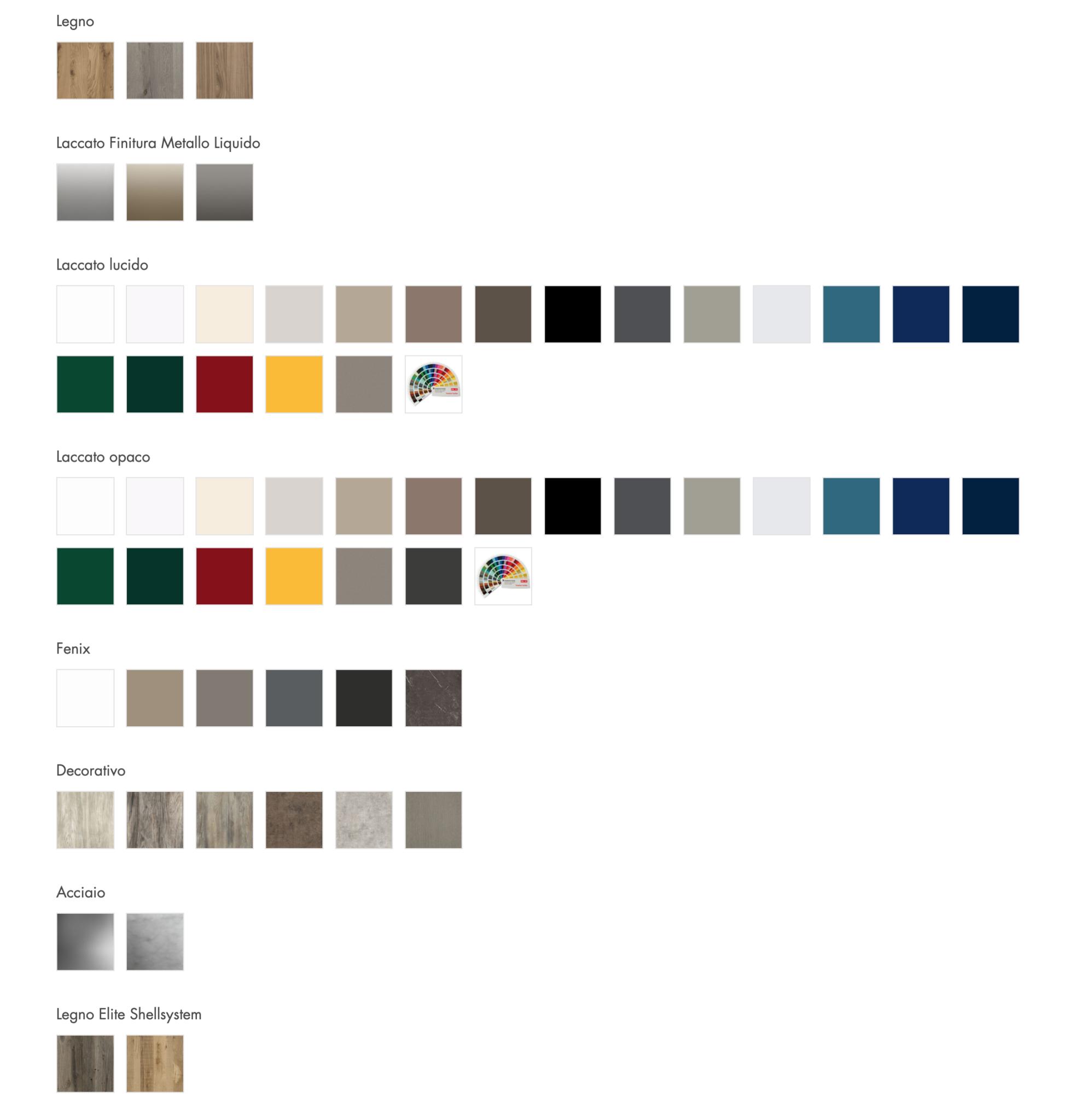 Semeraro Le migliori finiture, i migliori colori da